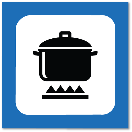 piktogram kokeplass
