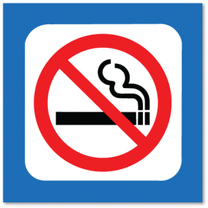 piktogram røyking forbudt