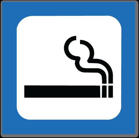 piktogram røyking tillatt