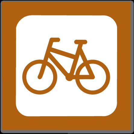 piktogram sykkelløype