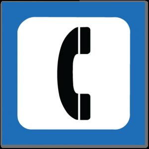 piktogram telefon