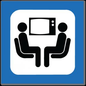 piktogram tv-stue