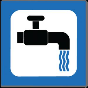 piktogram vannkran