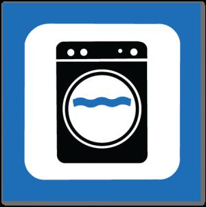 piktogram vaskemaskin