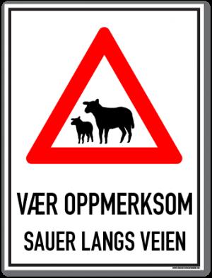 Sauer langs veien