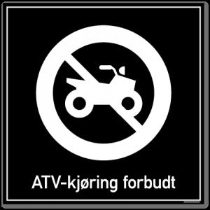 atv kjøring forbudt