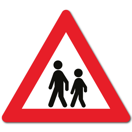 Trafikkskilt Barn 142