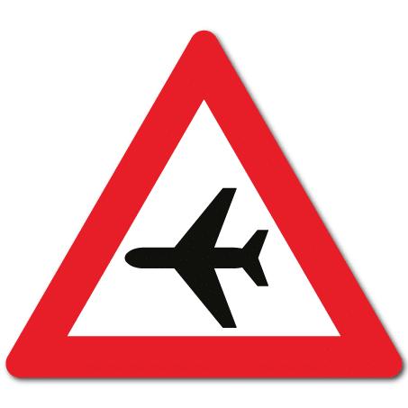 Trafikkskilt Fly 150