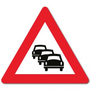 Trafikkskilt Kø 149