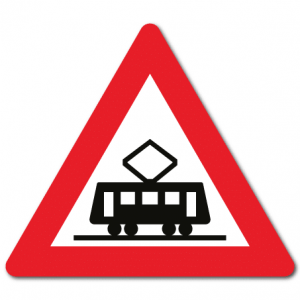 Trafikkskilt Sporvogn 139