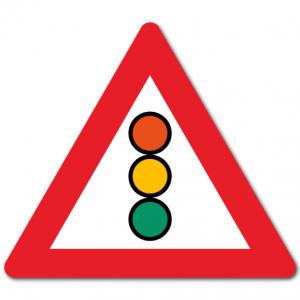Trafikkskilt Trafikklyssignal 134