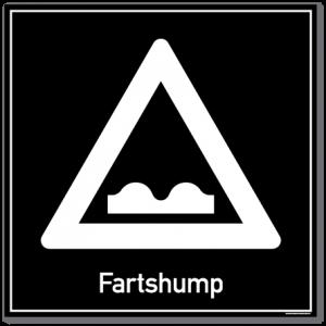 Fartshump skilt