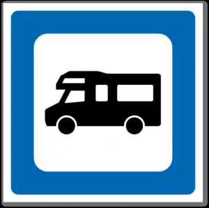 Trafikkskilt Bobilplass 621