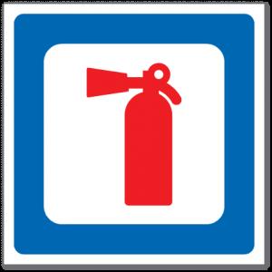 Trafikkskilt Brannslokningsapparat 606