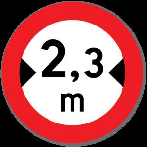 Trafikkskilt Breddegrense 312