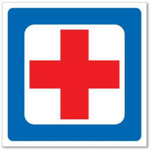 Trafikkskilt Førstehjelp 602
