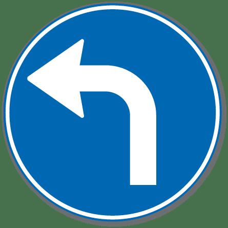 Trafikkskilt Påbudt Kjøreretning 402.5