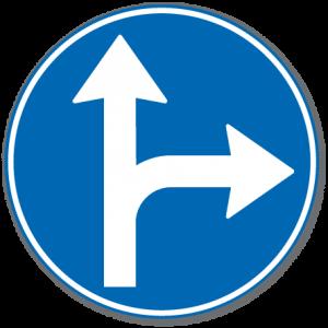 trafikkskilt påbudt kjøreretning 402.6