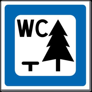 Trafikkskilt Rasteplass 613.2