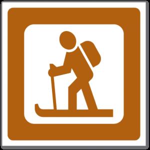 Trafikkskilt Skiløype 650.21