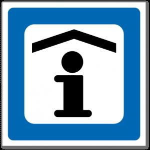 Trafikkskilt Turistinformasjon 637