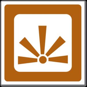 Trafikkskilt Utsiktspunkt 640.20