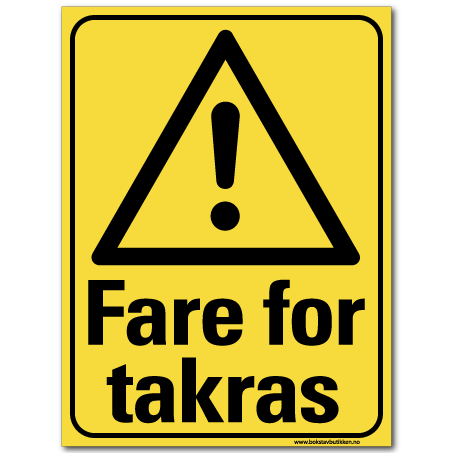 hms advarsel fare for takras