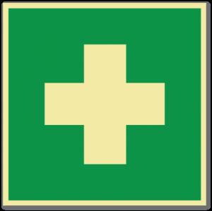 sikkerhetsskilt førstehjelp